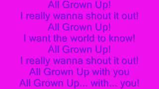 Rugrats Theme   All Grown Up (Lyrics)