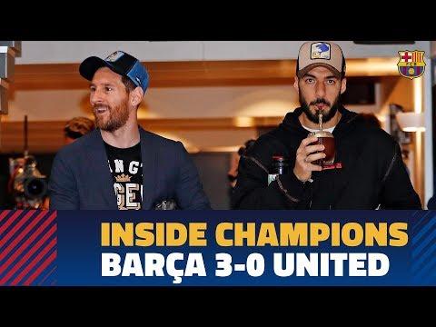 BARÇA 3-0 MANCHESTER UNITED | Inside Champions