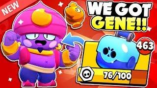We Opened Gene! But, Something Went Wrong ????... Gene New Brawler Gameplay! - Brawl Stars