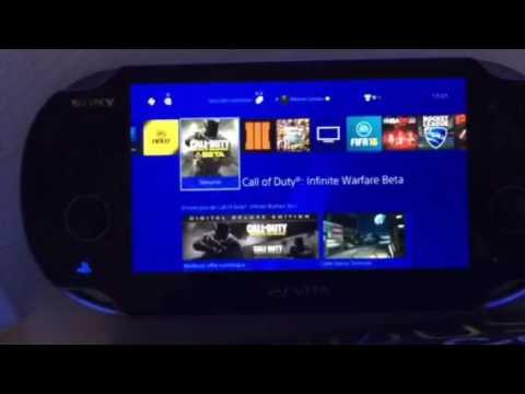Transférer tout les jeux PS4 sur PS VITA - YouTube