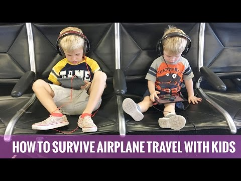 Tips for Airplane Travel with Kids