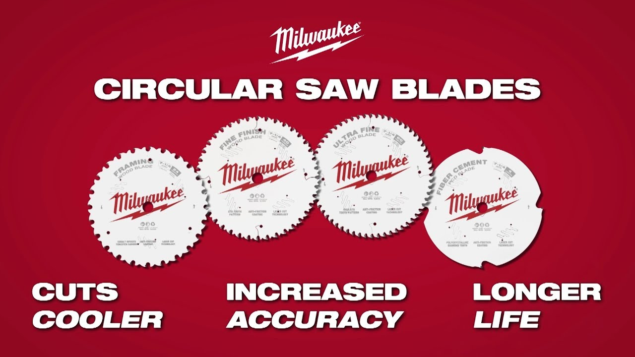 Milwaukee circular saw blades youtube milwaukee circular saw blades greentooth Image collections