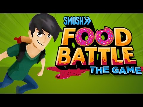 FOOD BATTLE: THE GAME (TRAILER)