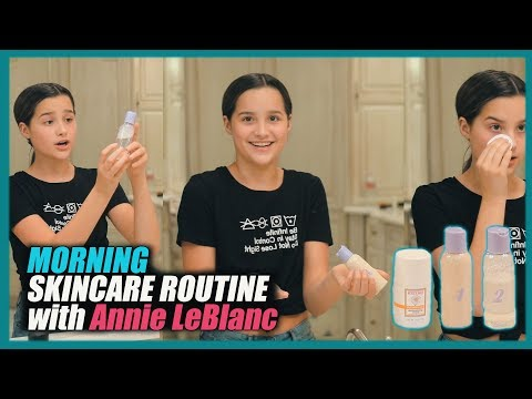 Morning Skincare Routine | Annie LeBlanc from YouTube · Duration:  8 minutes 42 seconds