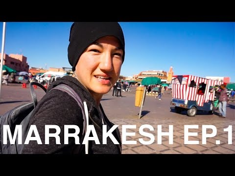 Welcome to MARRAKESH! First Impressions of Morocco | Ep. 1