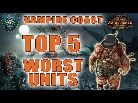 Top 5 Worst Units in the Vampire Coast | Total War: Warhammer 2