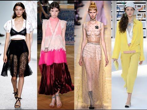 11 трендов весны-лета 2017 с Недели моды в Париже - YouTube - photo#4
