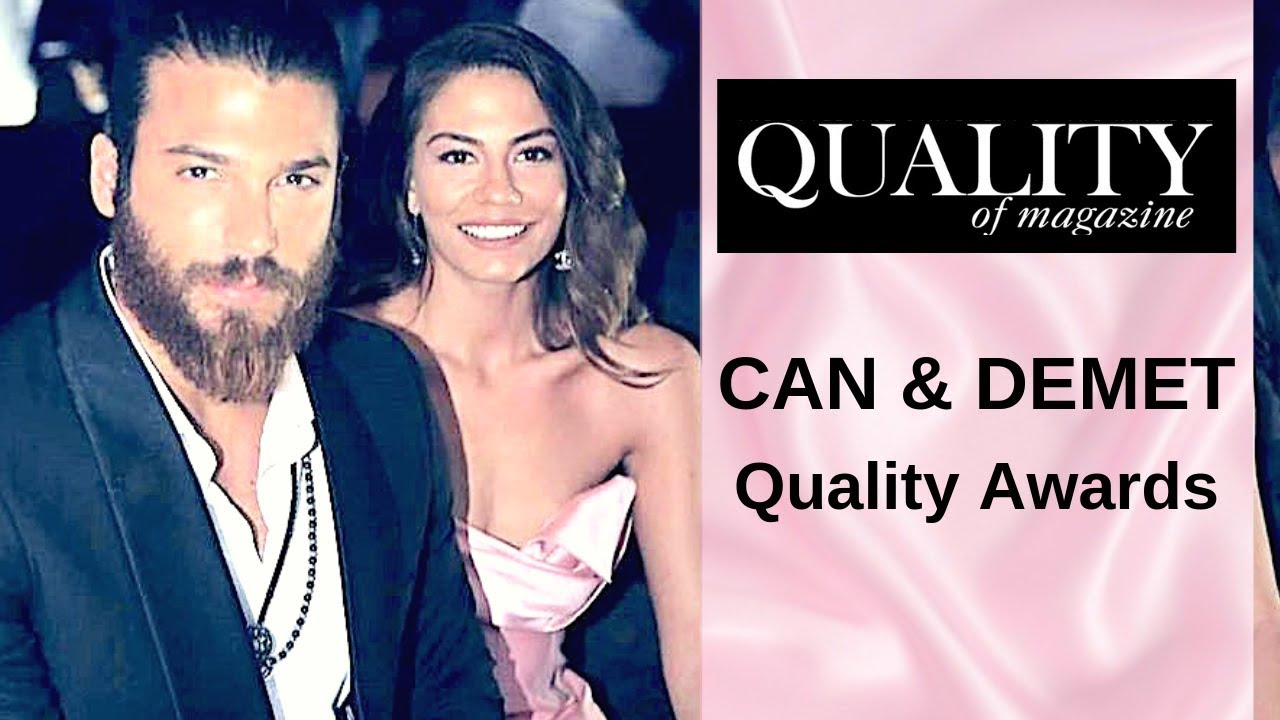 Can Yaman and Demet Ozdemir ❖ Quality Awards Ceremony ❖ English ❖ 2019