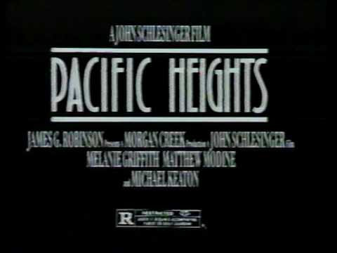 1991 - 'Pacific Heights' with Michael Keaton Comes to Home Video