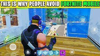 10 HUGE Differences in Fortnite MOBILE and Fortnite CONSOLE | Chaos