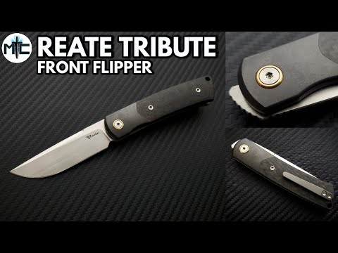 Reate Tribute Front Flipper Folding Knife – Overview and Review