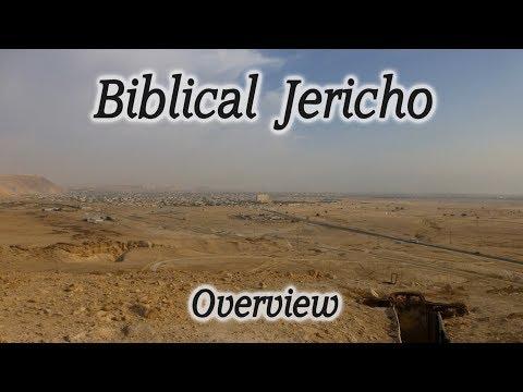 Biblical Jericho Overview - Tel es-Sultan - Mount of Temptation - Jordan Valley