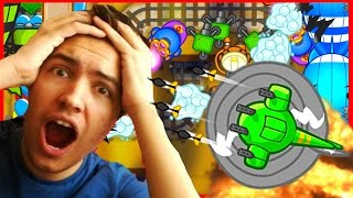 I NEARLY KILLED MYSELF! - Bloons TD Battles Gameplay - Playing With Fire Epic Battle!