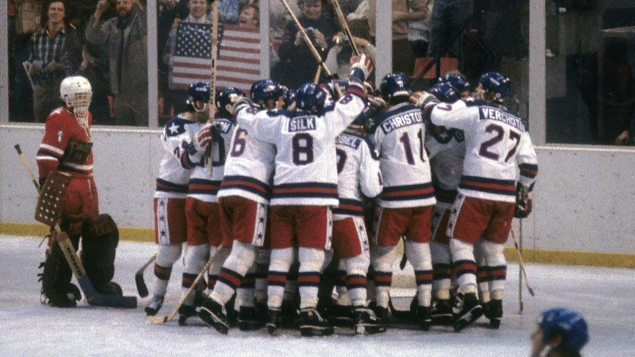 American Underdogs Beat Heavily Favored Soviets In The Miracle On Ice Youtube