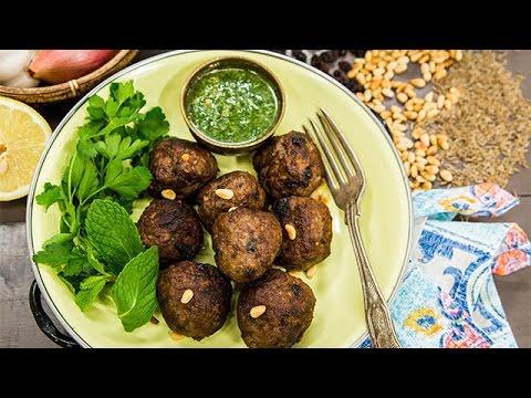 Recipe - Tia Mowry's Lamb Meatballs with Gremolata - Home & Family