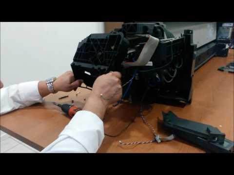 Plotter hp designjet 500 sostituzione cinghia - belt replacement
