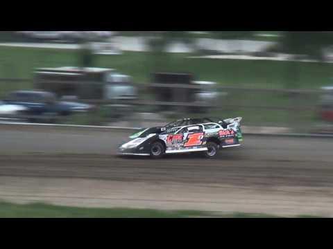IMCA Late Model Heats Independence Motor Speedway 8/5/17