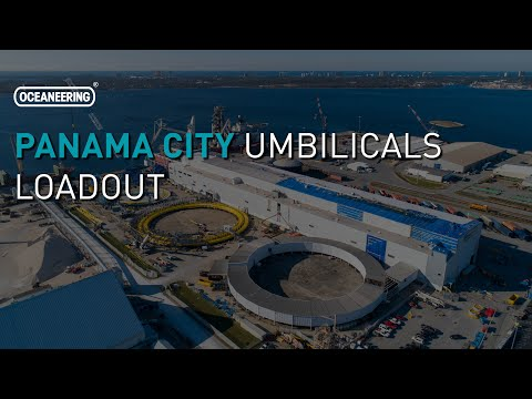 Oceaneering - Panama City Umbilicals Load-out