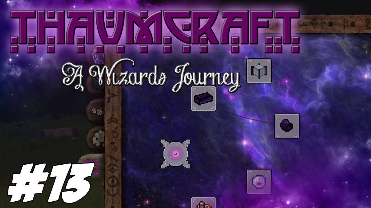 Thaumcraft 4 2 (1 7 10) - A Wizards Journey - Eldritch Tab, Silverwood  Staff And Wand Foci #13