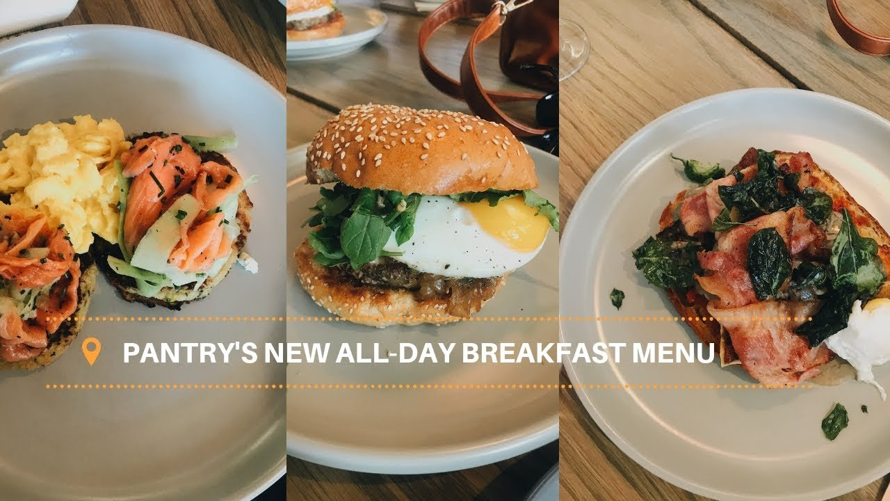 Pantry S New All Day Breakfast Menu Youtube