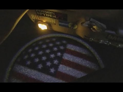 LED USA Flag Projected Door Lights Install (Jeep TJ)