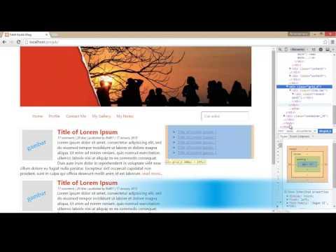 Mendesain Website Personal (Pribadi) dengan 960 Grid System - 16 Columns