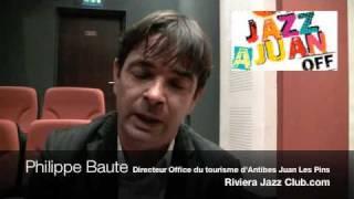 Philippe Baute Directeur de l'office de Tourisme d'Antibes Juan Les Pins