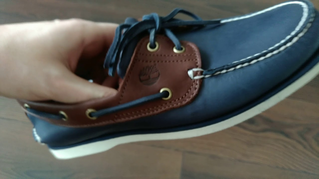 Timberland classic 2 Eye boat shoes unboxing. Розпаковка шкіряних тімберлендів