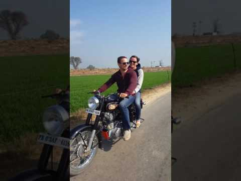 India Trip 2016 Royal Enfield Crusing in the Country
