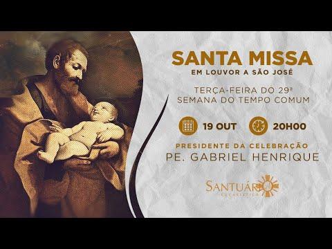 Santa Missa - 19/10/21 - 20h00 - Pe. Gabriel