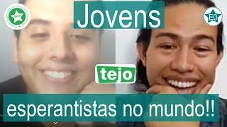 Jovens esperantistas no mundo! #13 Conversa Querino Neto | Esperanto do ZERO!