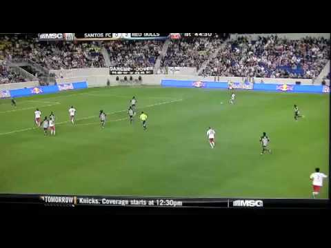 Dane Richards goal against Santos FC 3/20/10