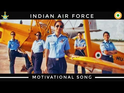 Indian Air Force Motivational Song : Salute Women In IAF