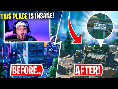 *NEW* Tilted Town Reaction! TILTED TOWERS IS GONE?! Ft. Timthetatman, SypherPK & HD