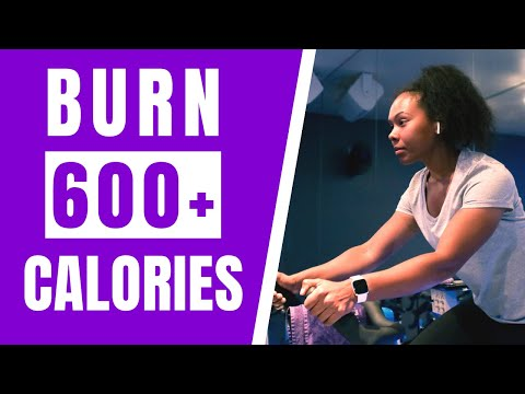 Fat Burning Spin Class // Indoor Cycling Home Workout