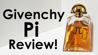 PI by GIVENCHY FRAGRANCE REVIEW | CascadeScents