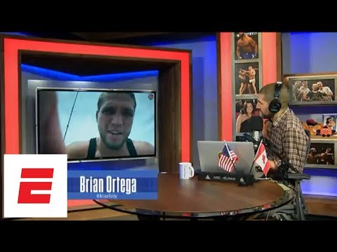 Brian Ortega reveals details of Dana White meeting before UFC 226 | Ariel Helwani's MMA Show | ESPN