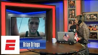 Brian Ortega reveals details of Dana White meeting before UFC 226 | Ariel Helwani's MMA Show | ESPN