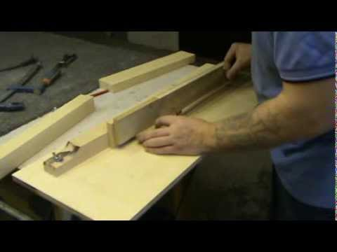 видео: Шиповое соединение ласточскин хвост