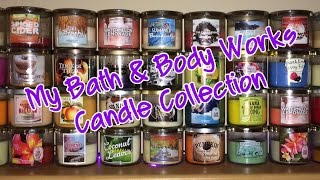 My Bath & Body Works Candle Collection 2014 Thumbnail