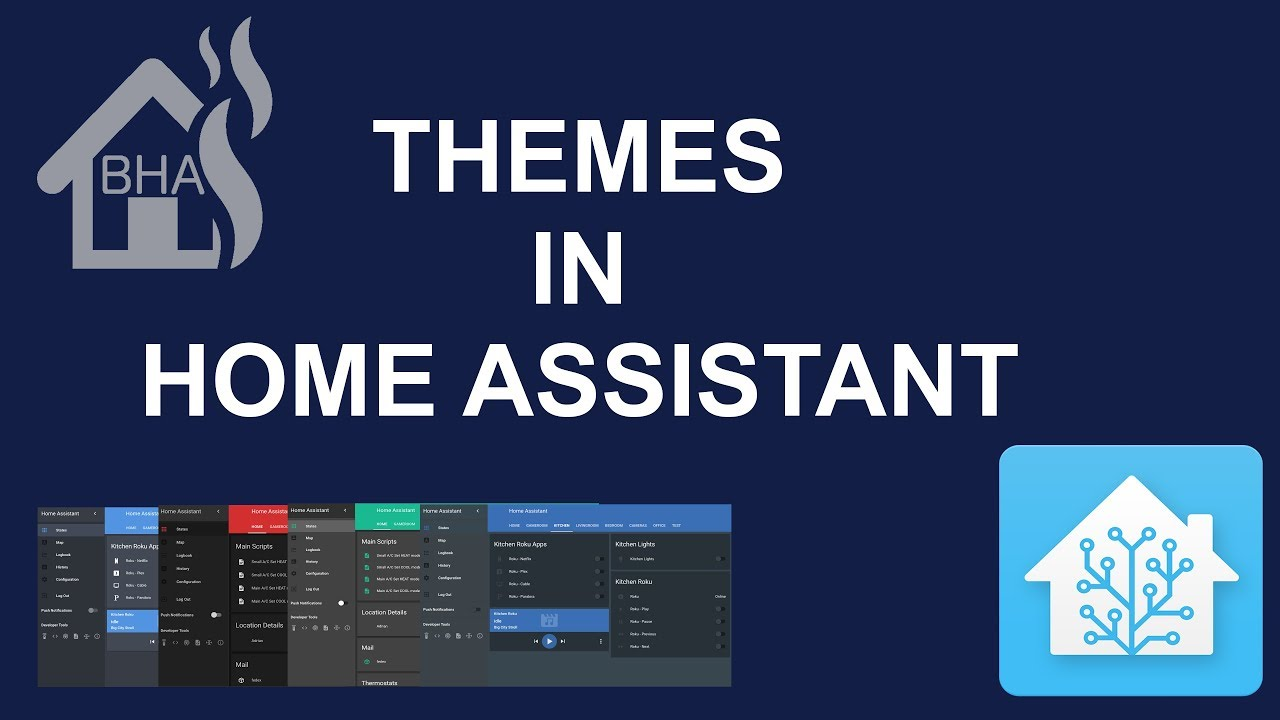 Themes in Home Assistant!!!