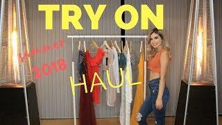 Try On Haul   Summer 2018  Shein  PrettyLittleThing  FashionNova