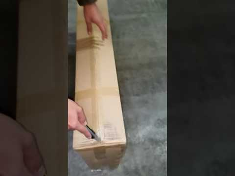 Unboxing new 120w flexible panels