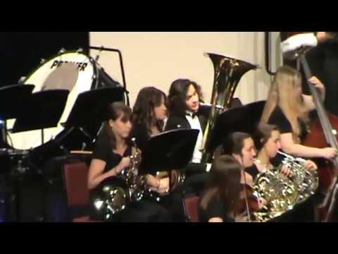Ola High School Choral Orchestra - Sleigh Ride