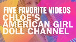 Five Favorite American Girl Doll Videos