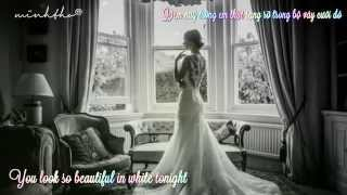 BEAUTIFUL IN WHITE || Shane Filan || Lyrics Video + Vietsub