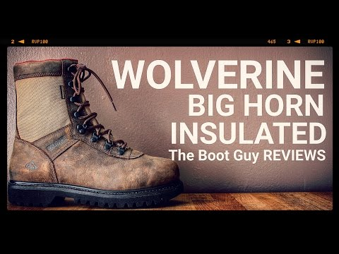 Wolverine BIG HORN INSULATED WATERPROOF 8