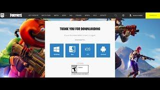 تحميل لعبة Fortnite لكل الاجهزة 2019 Download Fortnite For PC Android Mac Ios