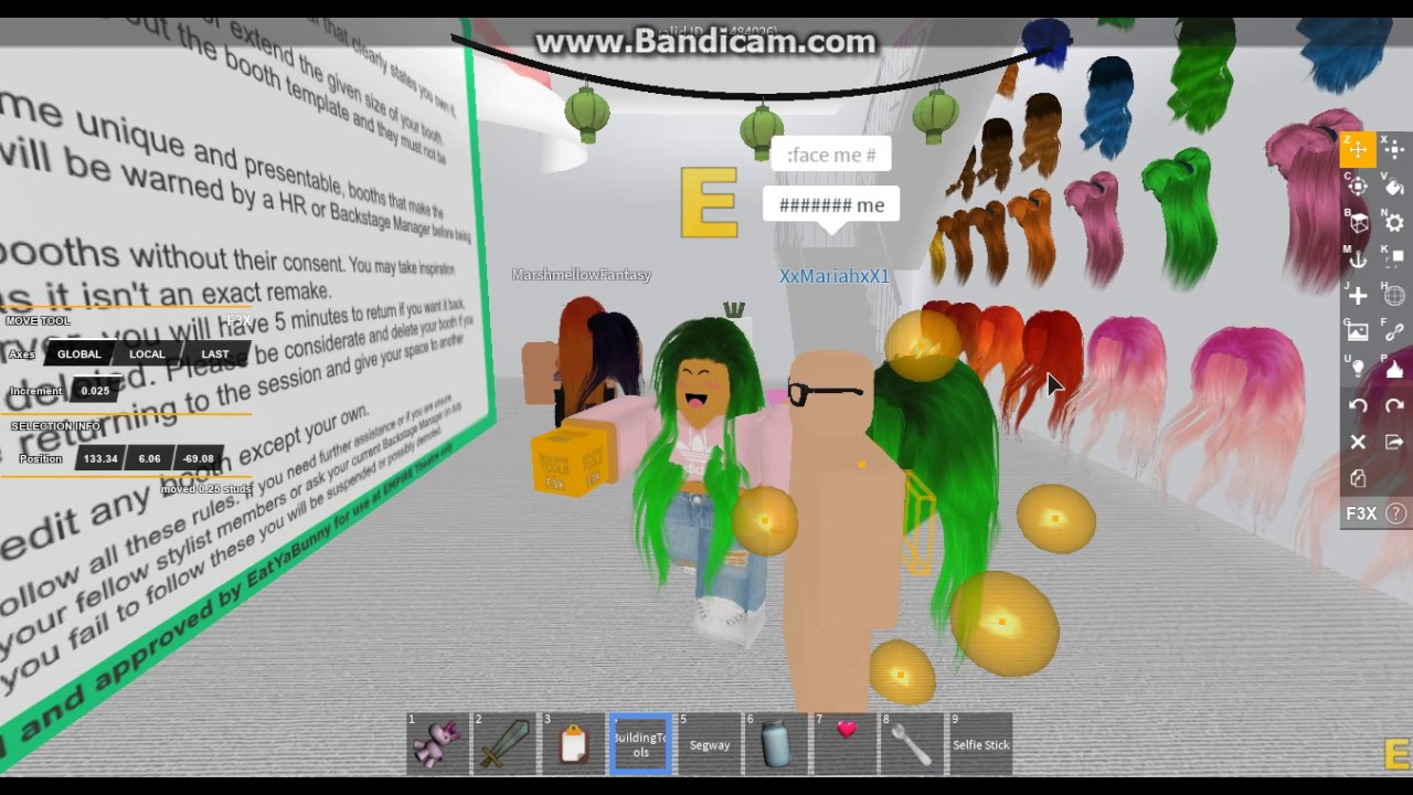How To Make Mesh Hair On People Roblox F3x Youtube