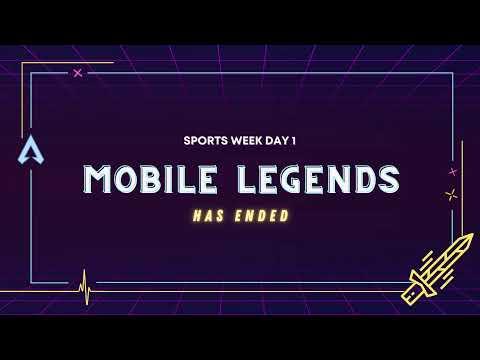 i3L Sport Week Mobile Legends - Day 1